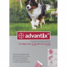Advantix Large dog 10 - 25kg