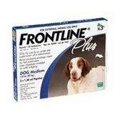 Frontline Plus Medium Dog 10 - 20kg