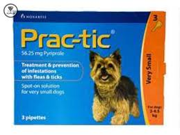 Prac-tic Top Spot for Small Dogs 2 - 4.5kg