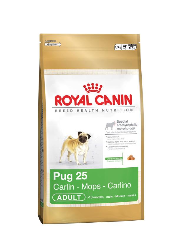 Royal Canin Mini Adult Pug Door To Paw