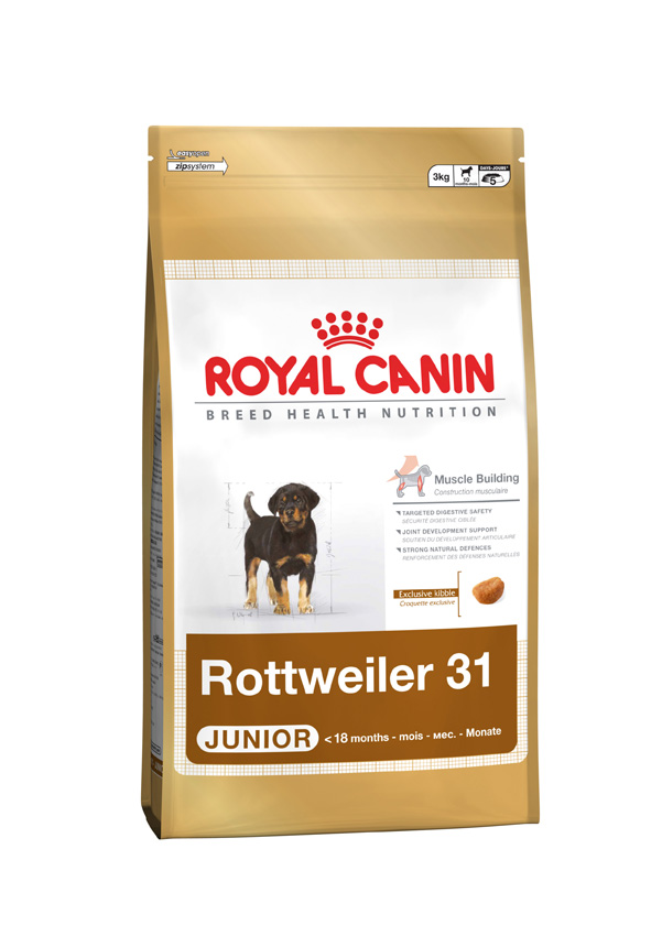 Royal Canin Rottweiler Junior Door To Paw