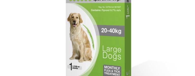 fiprotec large dog 20 - 40kg
