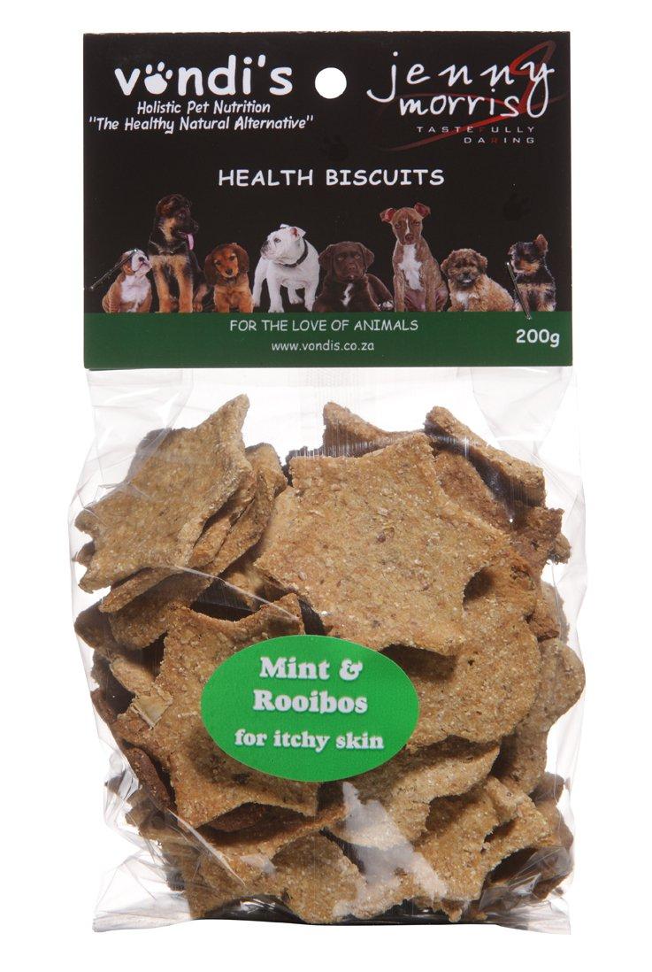 Vondi's Jenny Morris Rooibos & Mint Biscuits