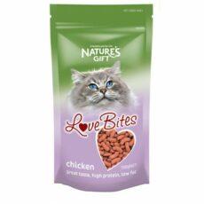 chickenlove bites feline
